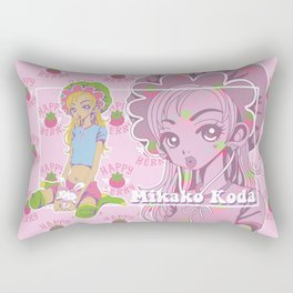 Happy Berry Rectangular Pillow