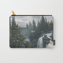 Athabasca Falls Alberta Carry-All Pouch