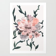 Summer Flowers Art Print
