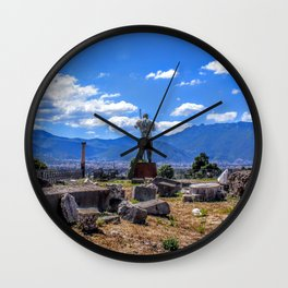 On a Journey Wall Clock