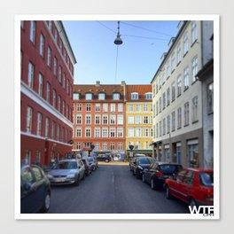 Colours of Vesterbro, Copenhagen Canvas Print