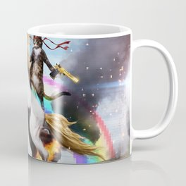 Unicorn and Cat Coffee Mug