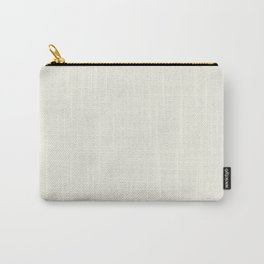 Simply Cream Carry-All Pouch
