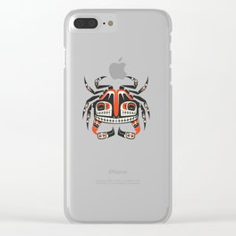 The Crab Clear iPhone Case