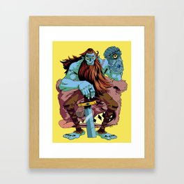 BILLY! Framed Art Print