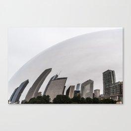 Cloud Gate Canvas Print
