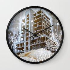 The Fortress III Wall Clock