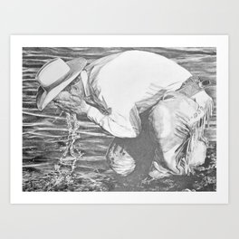 Watering Hole Art Print