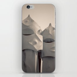 Gaudi's Chimneys iPhone Skin