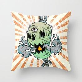 Chōchin-obake Throw Pillow