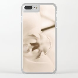 still and soft I Clear iPhone Case