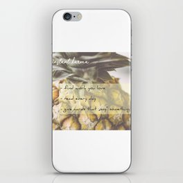 Instant Karma iPhone Skin