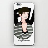 danisnotonfire iPhone & iPod Skins featuring #CaughtInTheAct by taetaejojo