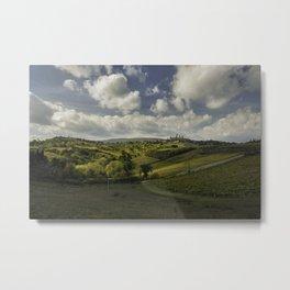 Gimignano's Colours Metal Print