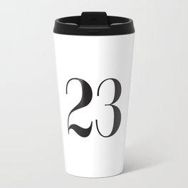 23 Metal Travel Mug