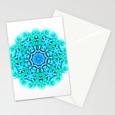Green and blue inspiration Stationery Cards