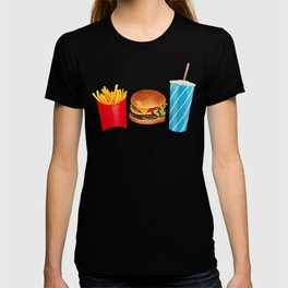 Combo Meal Pattern 2 - White T-shirt
