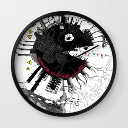 Lost Heaven Wall Clock