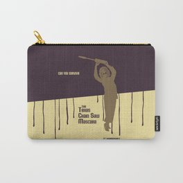Can You Survive The Texas Chain Saw Mascara Carry-All Pouch