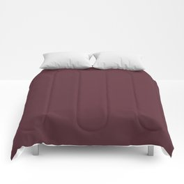 Pantone 19-1725 Tawny Port Comforters