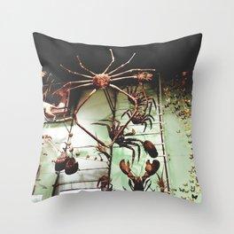Arthropodia Throw Pillow