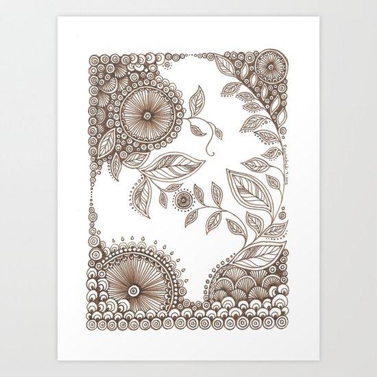 Small Garden Art Print