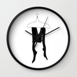 Tights — modern artprints, abstract illustrations, lowpoly designs Wall Clock