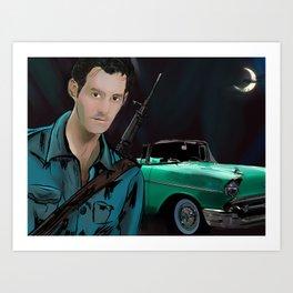 Xander Harris Art Print
