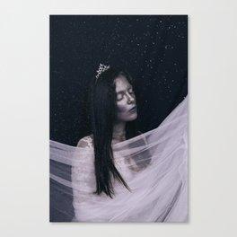 Ice queen Canvas Print