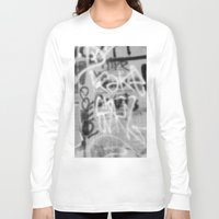 detroit Long Sleeve T-shirts featuring DETROIT PATTERNS by Brittany Gonte