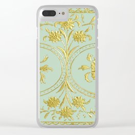 sunshine over versailles Clear iPhone Case