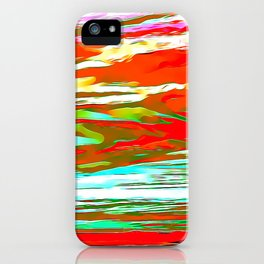 Life is colorful iPhone Case