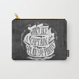 like  a pirate, black Carry-All Pouch