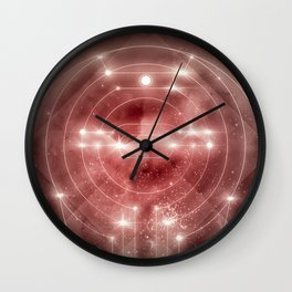 Gates of the universe Wall Clock