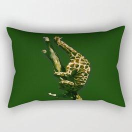 Giraffe In The Tree ?! Rectangular Pillow