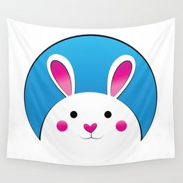 Chubby Bunny Wall Tapestry