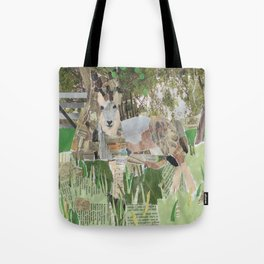 Under The Fruit Tree Tote Bag