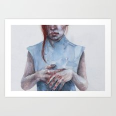 giving away my hands Art Print