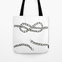 louis tomlinson Tote Bags featuring Louis Tomlinson rope by Adele_F