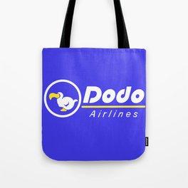 dal dodo airline ac animal crossing Tote Bag