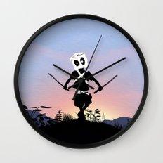 Deapool Kid Wall Clock