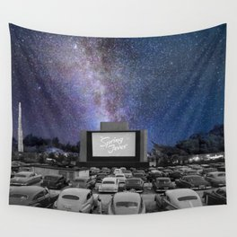 Drive-In Wall Tapestry