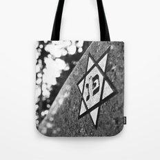 Cemetery star Tote Bag