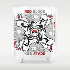 Blood Sugar Sex Magikarp Shower Curtain