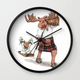 Monster of the week: Moostaur Wall Clock