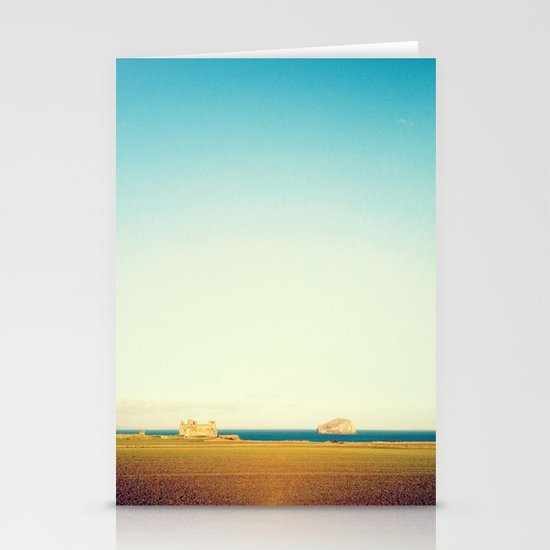 Tantallon Castle and Bass Rock Stationery Cards