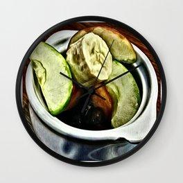 Juicy Fruit Wall Clock