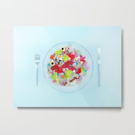 WHAT'S FOR DINNER? 1  Metal Print