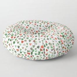 Christmas color palette Floor Pillow