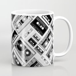 Retro cassette tape pattern 6 Coffee Mug